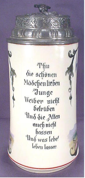 Illustrated Translations Of Beer Stein Inscriptions